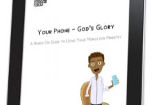 Your Phone - Gods Glory Cover on iPad-3D.