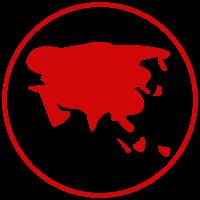 Asia icon.